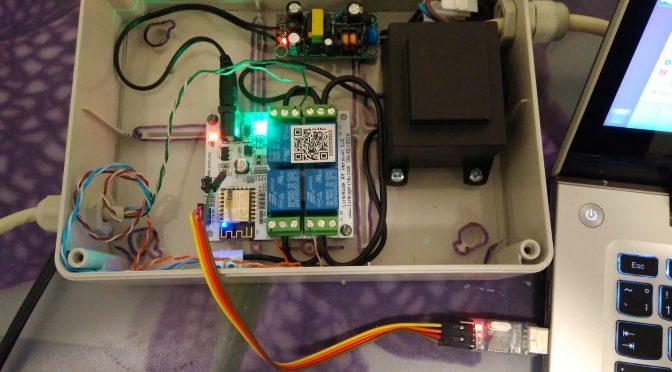WiFi enabled sprinkler controller | danman's blog