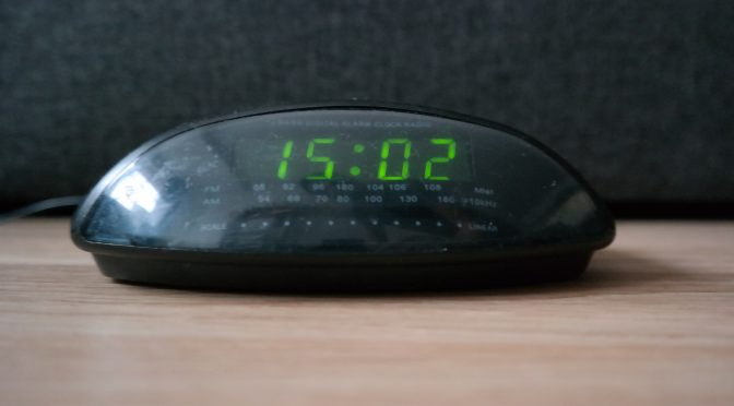 Old radio clock upgraded to NTP